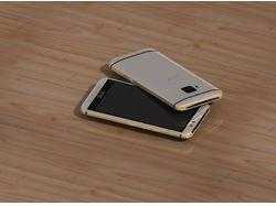3D модель телефона с эффектами