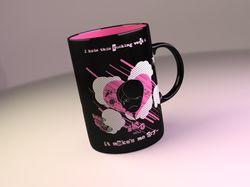 Дизайн чашки для ЭМО