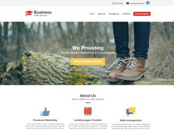 Landing page для бизнес сайта