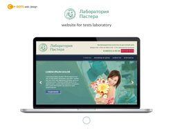 Дизайн сайта для Лаборатории Пастера