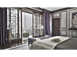 Спальня в стиле арт - деко