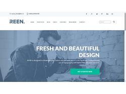 Верстка макета Home Agency (Bootstrap)