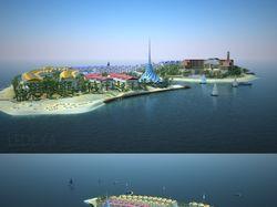 Остров-посёлок Баку