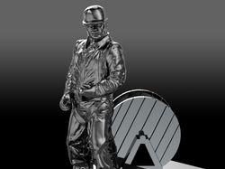 Нефтяник - фигурка для 3д печати