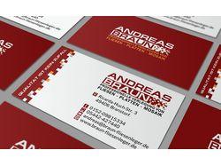 business card Andreas Braun
