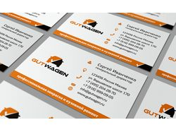 business card Gut Wagen