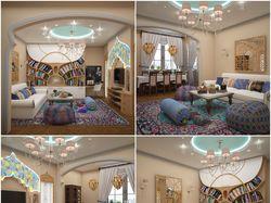 Квартира в марокканском стиле.
