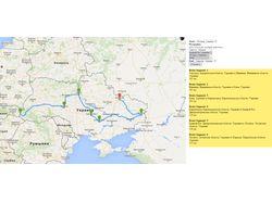 Работа с API Google Maps
