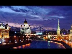 Слайд-шоу Ночная Москва.