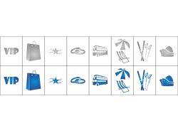 Иконки для тур-агенства