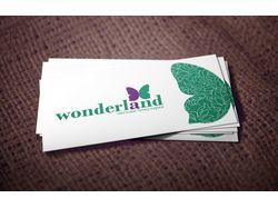 "Логотип для магазина бижутерии ""Wonderland"""