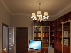 Визуализация спальни и кабинета