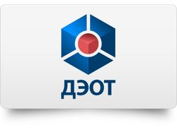 Логотип для компании ДЭОТ