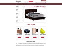 сайт-Магазин мебели