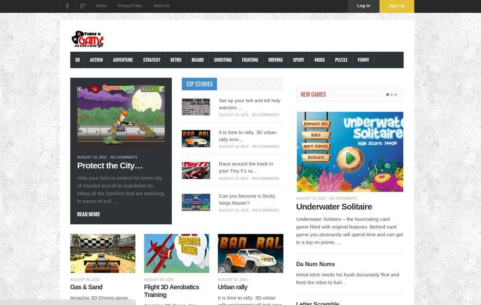 Сайт - Главная страница