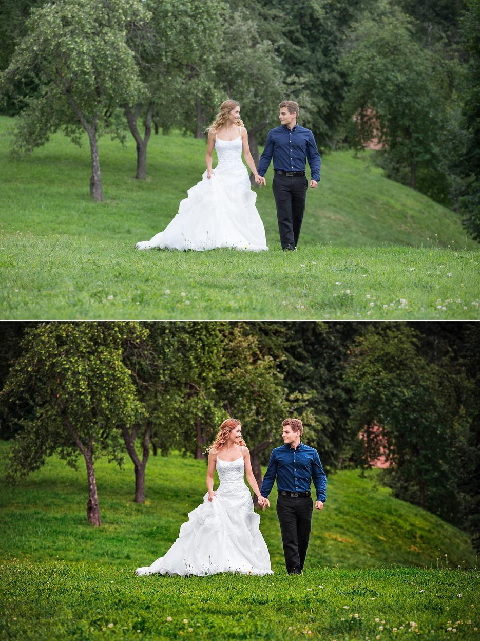 при как обработать свадебные фотографии в лайтруме противень