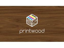Логотип Printwood