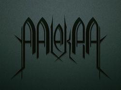 "Логотип для рок-группы ""Mlekra"""