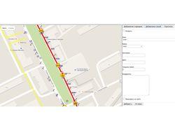 Интерактивная карта Google maps