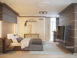 Стиль контемпорари в спальне