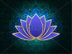 вектор lotus flower, a symbol of purity