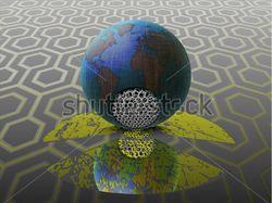 вектор radiation on the earth, ecology