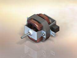 3D модель мотора фена