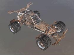 3D модель автомобиля для игры