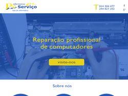 Сайт для компании по ремонту компьютеров