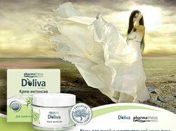 Баннер статичный косметика Доливия