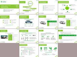 Презентация продажи, аренды и лизинга электрокаров