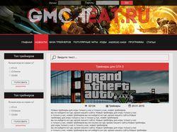 Редизайн сайта с трейнерами для игр