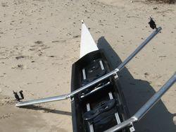 Лодка для академической гребли.