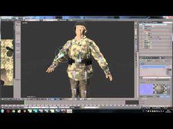 Разработка и привязка скелета персонажа для готовы