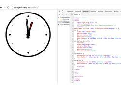 Часики на CSS