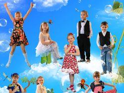 Виньетки и портреты детей