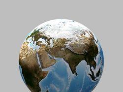 3D Модель Земного шара