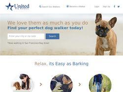 Сервис для выгула собак United Dog Walkers