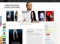 Англоязычный сайт о фильмах на WordPress