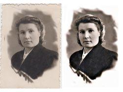Реставрация фото.