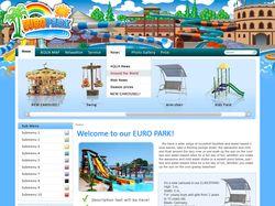 Дизайн сайта Европарка