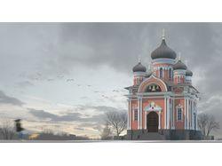 Воссоздание церкви Св.Митрофания Воронежского