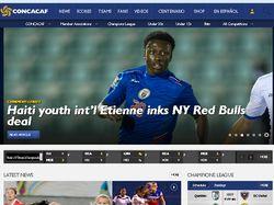 CONCACAF - сайт американской футбольной лиги