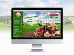 Сайт-каталог мясных деликатесов