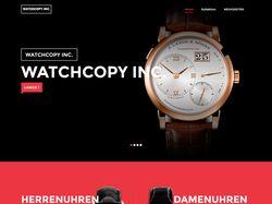 Сайт для для продажи копии часов