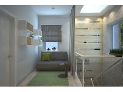 Дизайн-проект Таунхауса 150м2 ( 2 этаж )