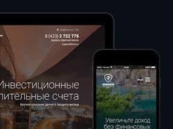 Разработка сайта для Финансового проекта