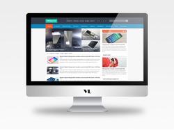 Уникальный дизайн портал о ПК clickportal.com.ua