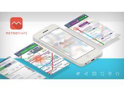 iOS-приложение - метро