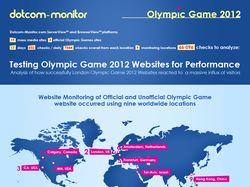 Олимпийские игры 2012. Инфографика